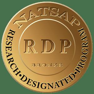 NATSAP Research Designated Program. Bronze