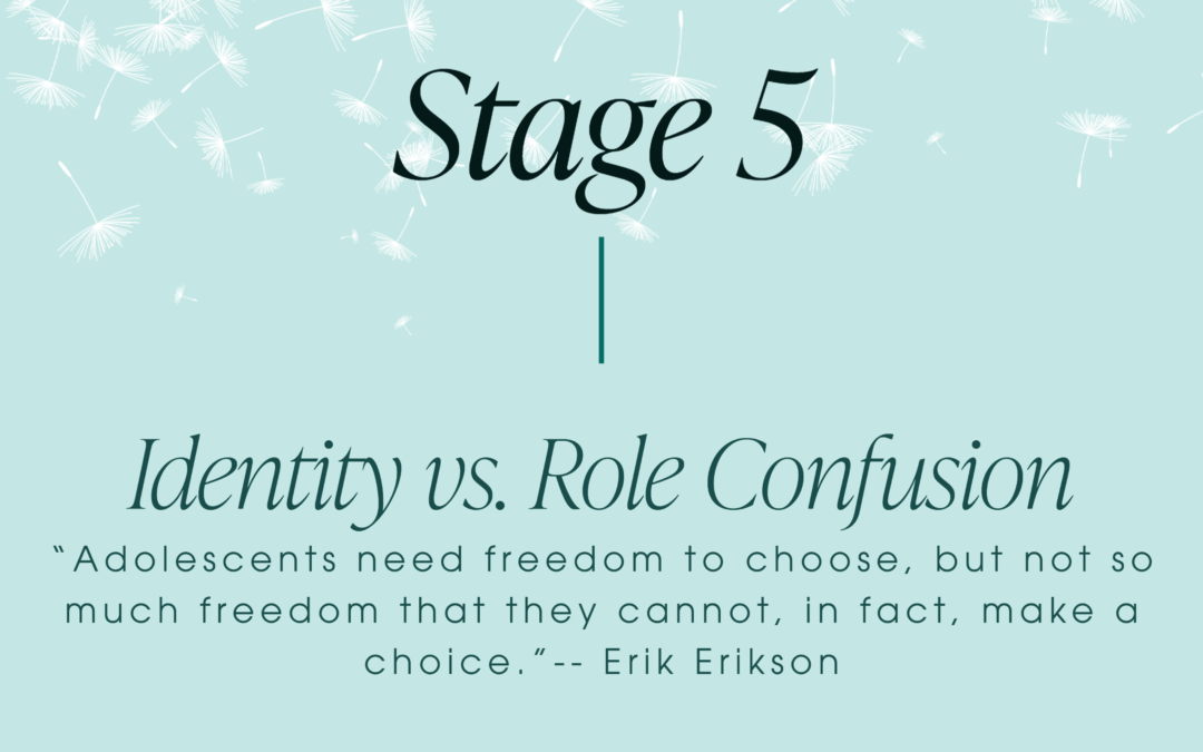 Erikson's Stage 5: Identity vs. Role Confusion